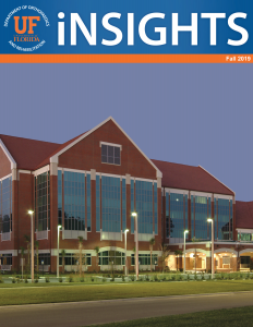 UF Ortho iNSIGHTS 2019 Fall Cover